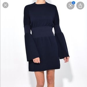 Tibi Structured 100% Wool Dress